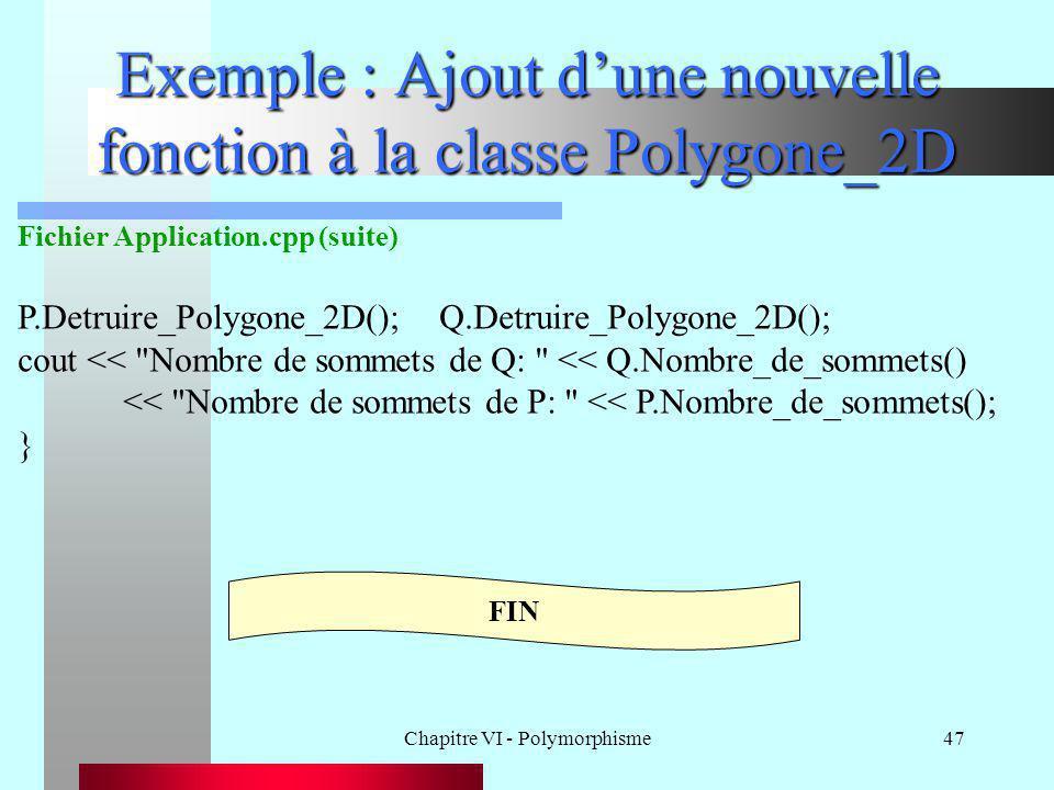 Exemple : Ajout d'une nouvelle fonction à la classe Polygone_2D