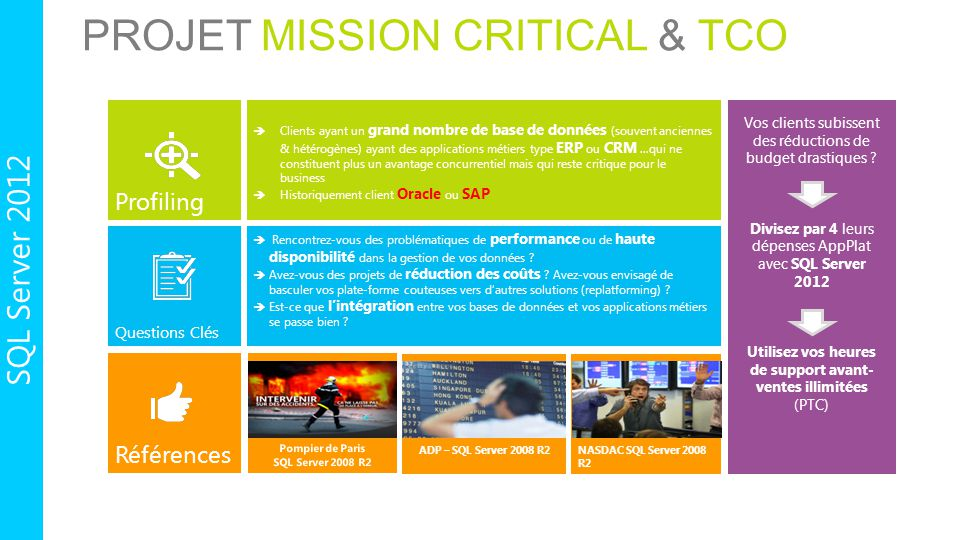 Projet Mission critical & TCO