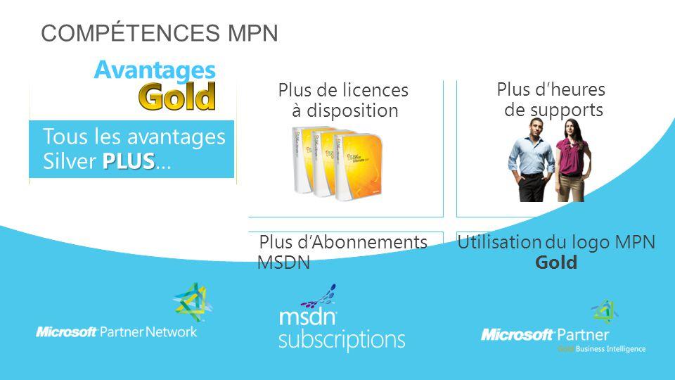 Utilisation du logo MPN Gold