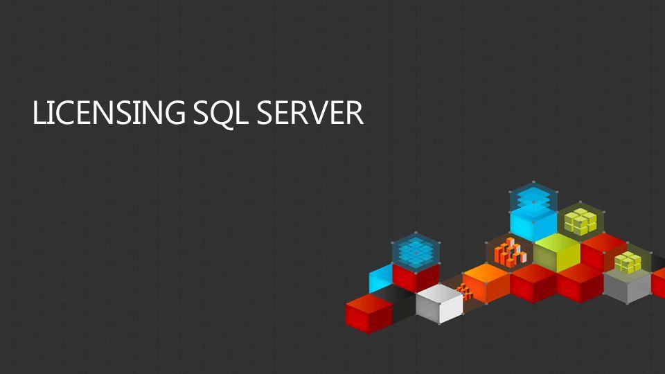 Licensing SQL Server