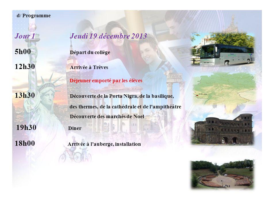 13h30 Découverte de la Porta Nigra, de la basilique,