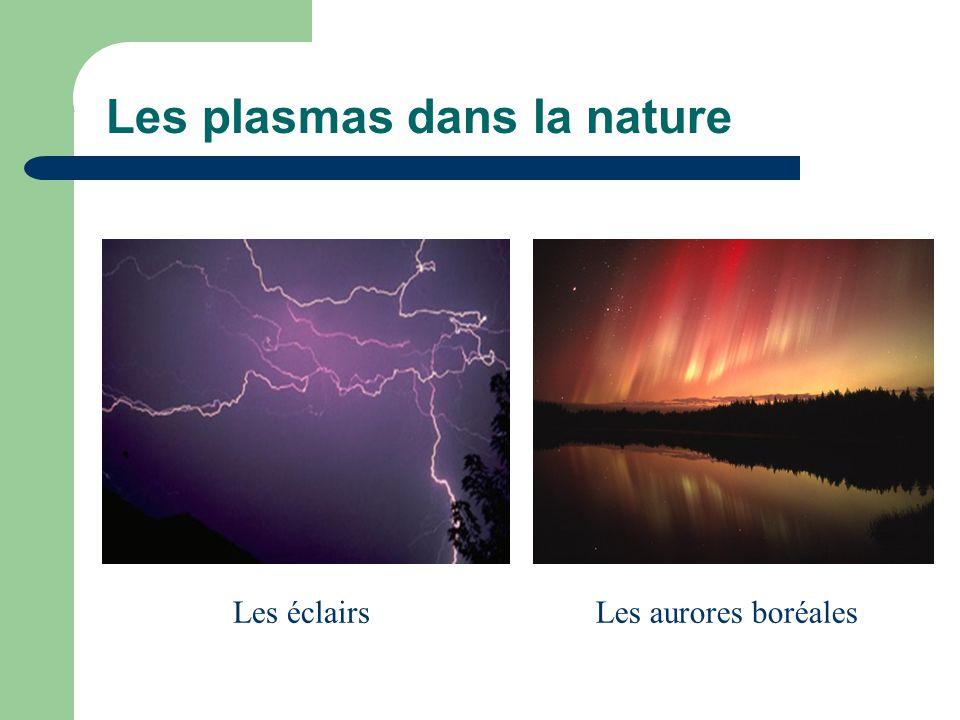 Les plasmas dans la nature