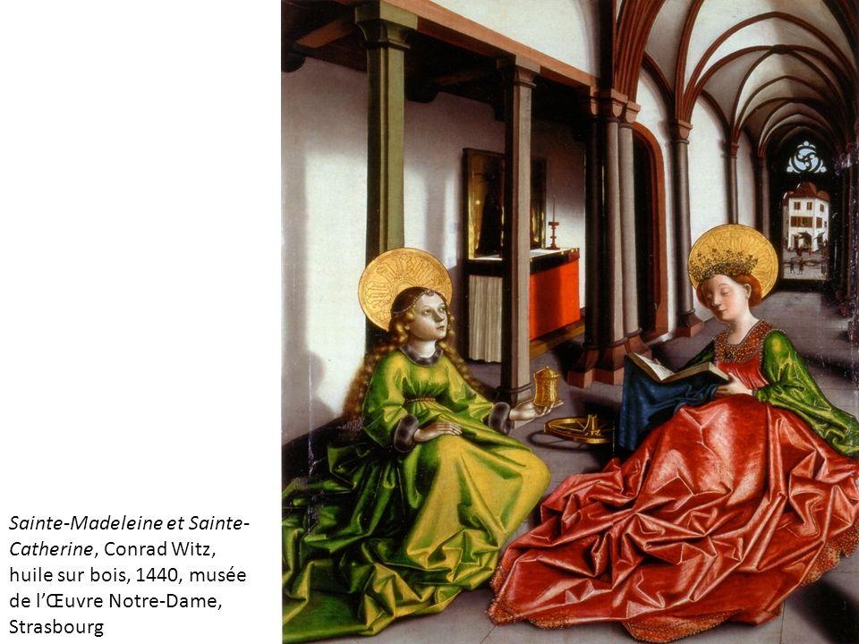 Sainte-Madeleine et Sainte-Catherine, Conrad Witz,