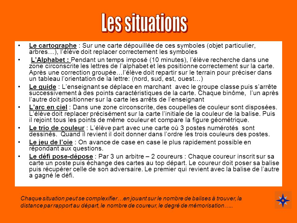 Les situations