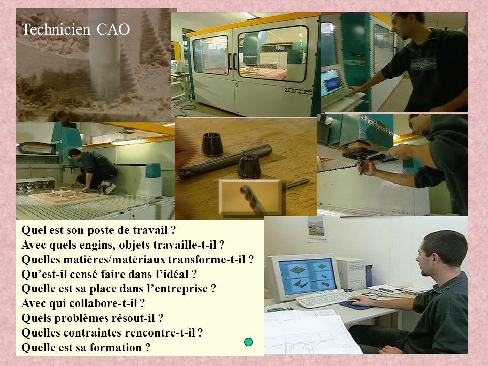 Technicien CAO