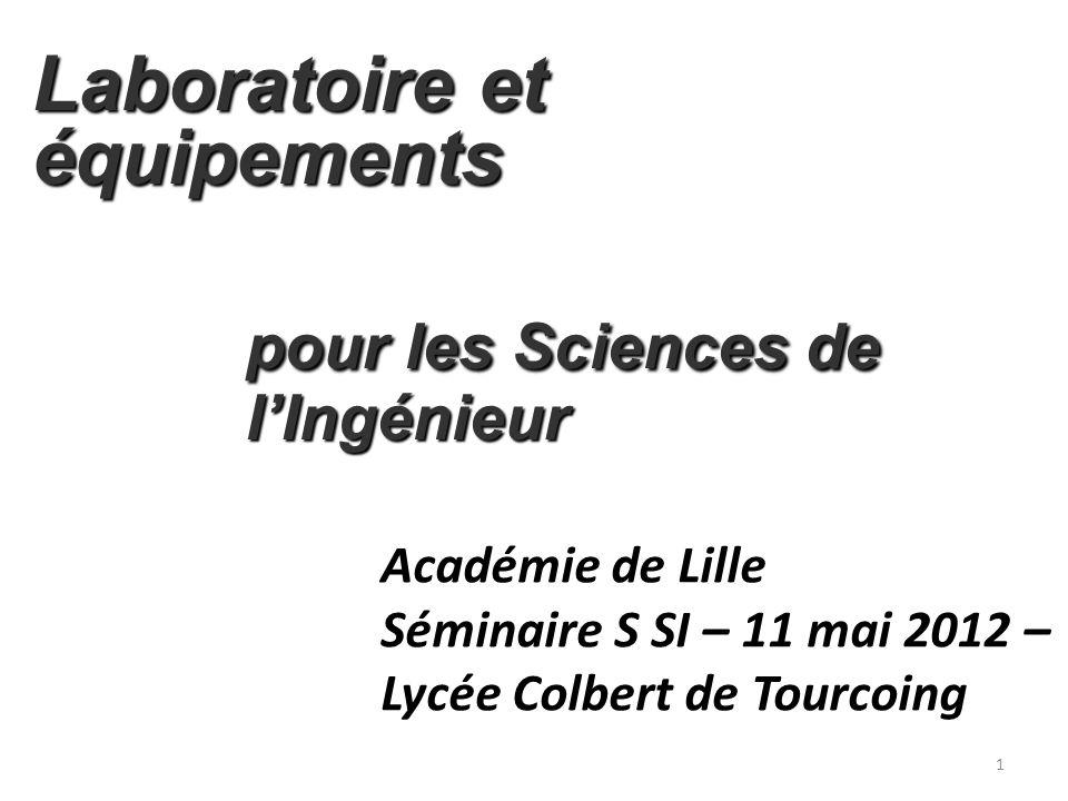 Laboratoire et équipements pour les Sciences de l'Ingénieur