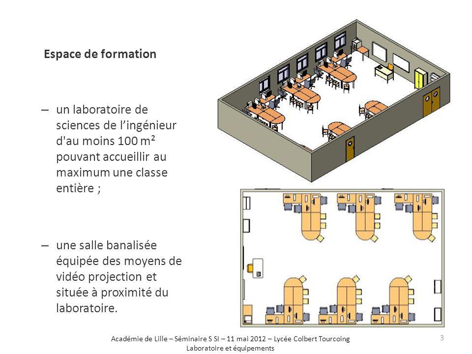Laboratoire et équipements