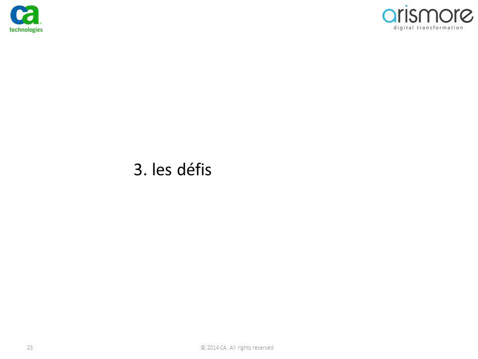 3. les défis