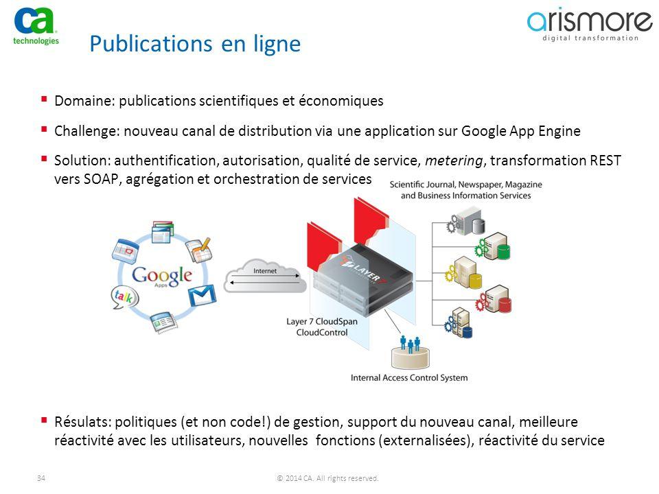 Publications en ligne Domaine: publications scientifiques et économiques.
