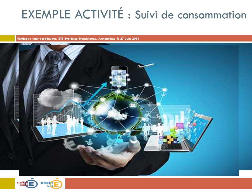 Exemple Activité : Suivi de consommation