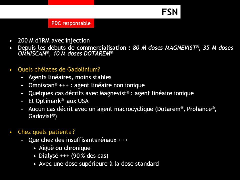 FSN 200 M d'IRM avec injection