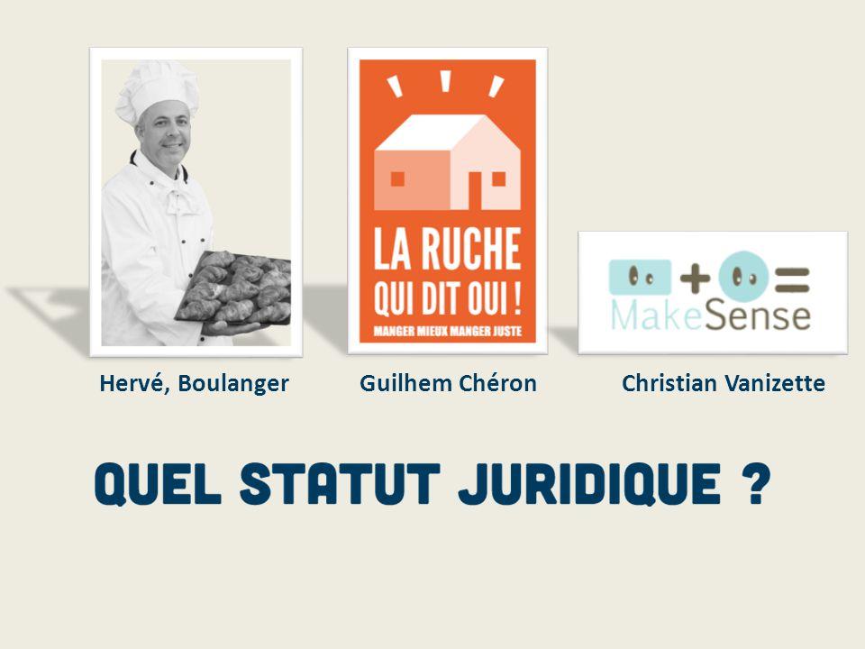 Hervé, Boulanger Guilhem Chéron Christian Vanizette