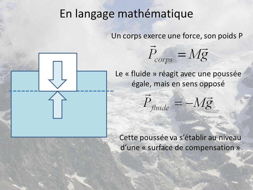 En langage mathématique