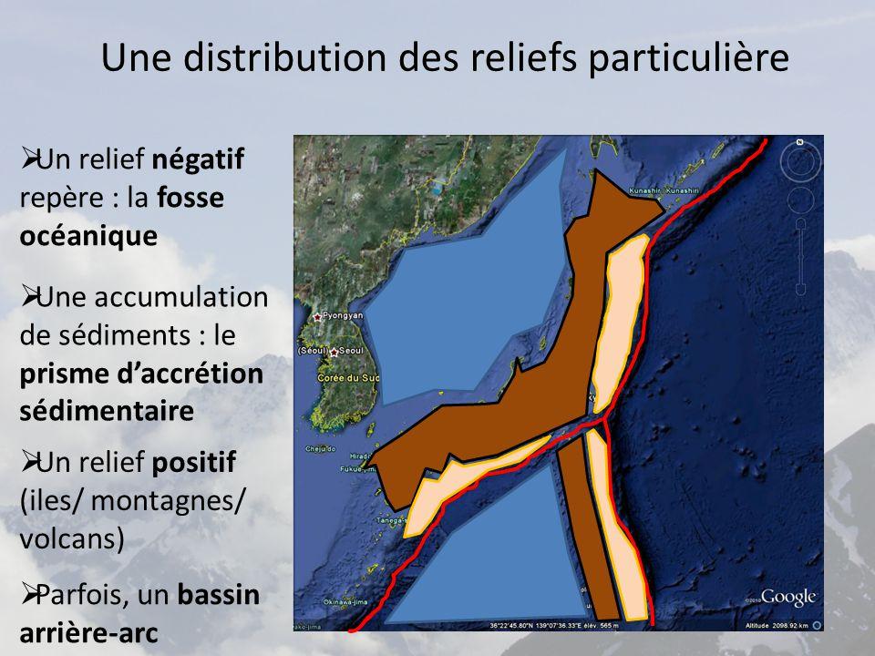Une distribution des reliefs particulière