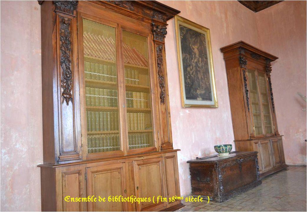 Ensemble de bibliothèques ( fin 18ème siècle )