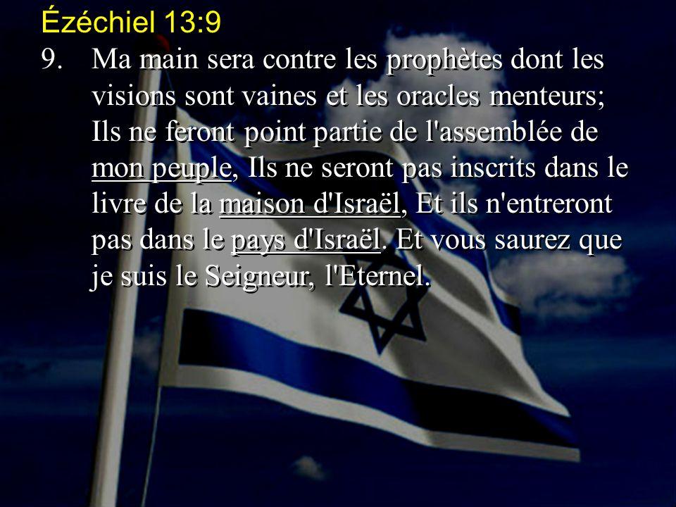 Ézéchiel 13:9