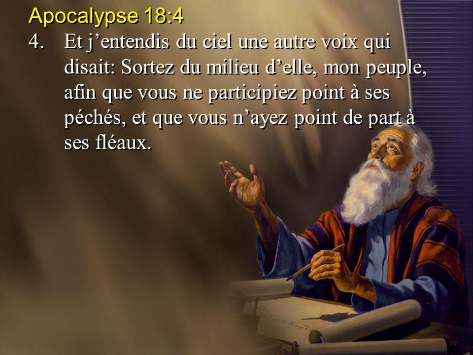 Apocalypse 18:4