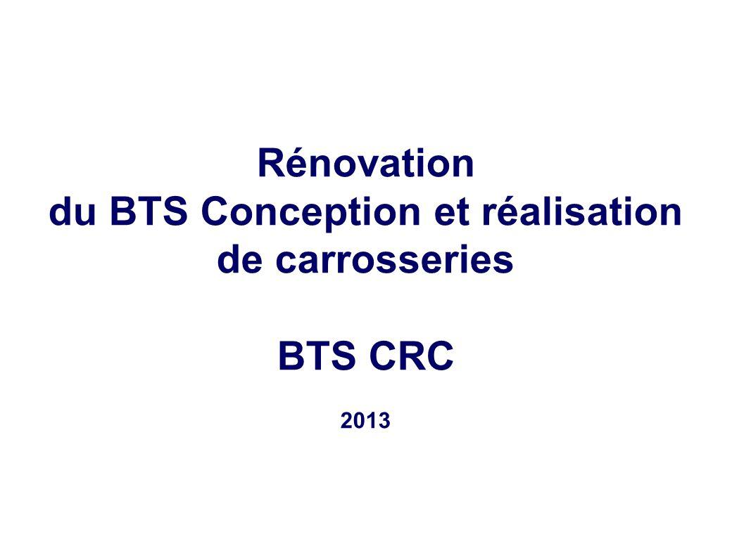 du BTS Conception et réalisation de carrosseries