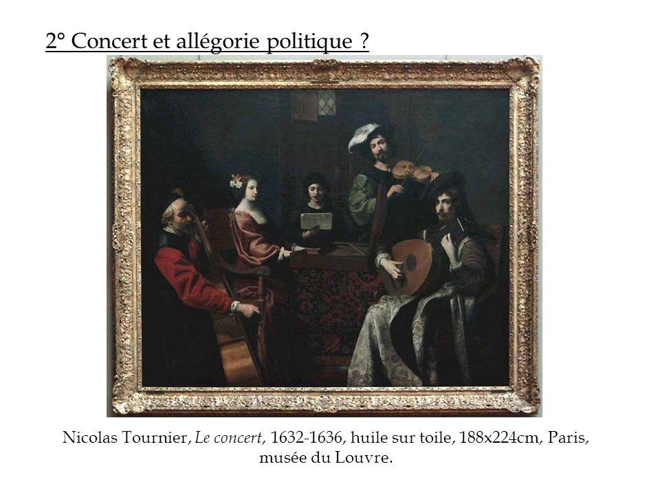 2° Concert et allégorie politique