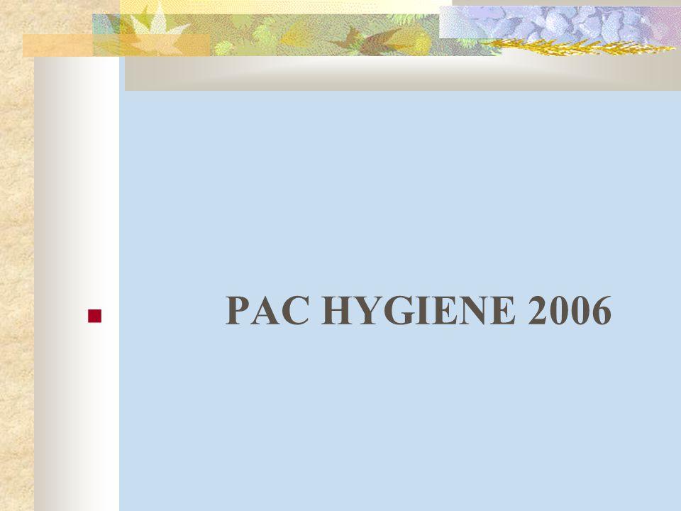 PAC HYGIENE 2006