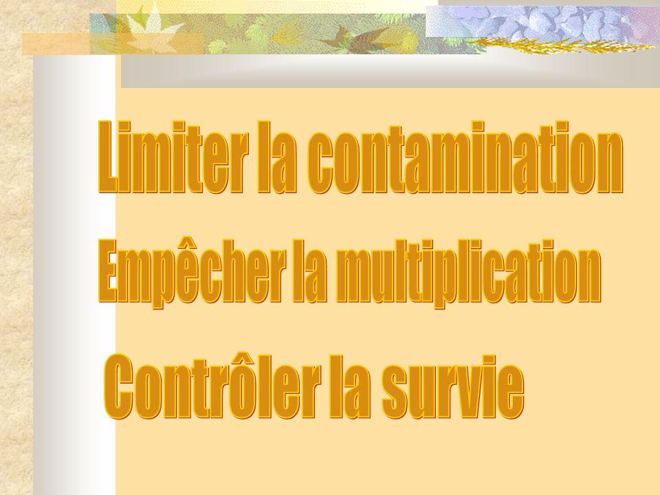 Limiter la contamination