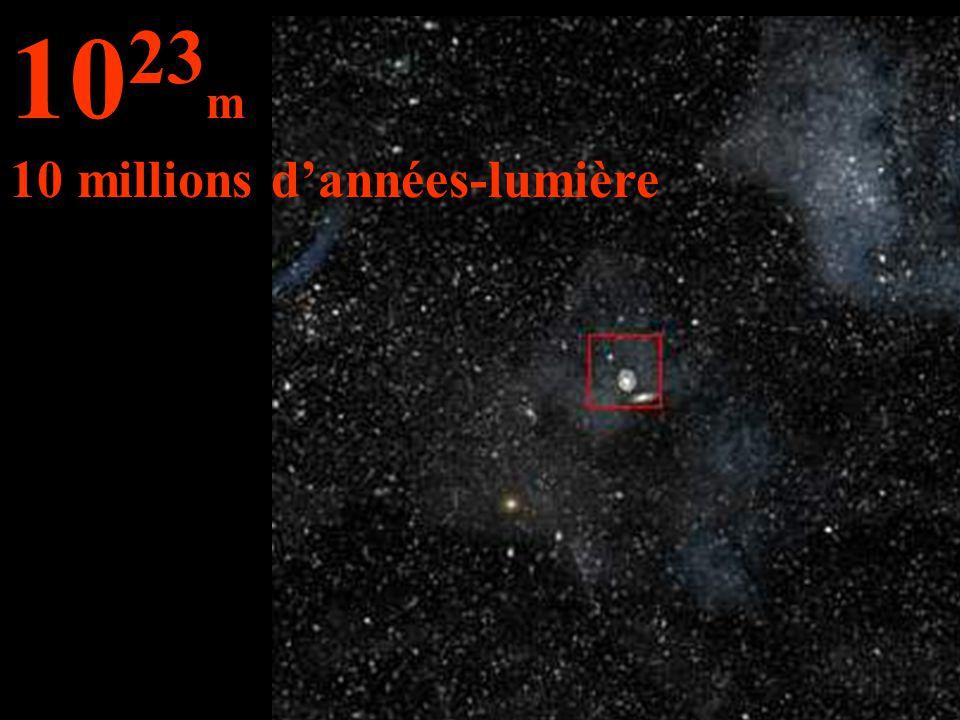 1023m 10 millions d'années-lumière