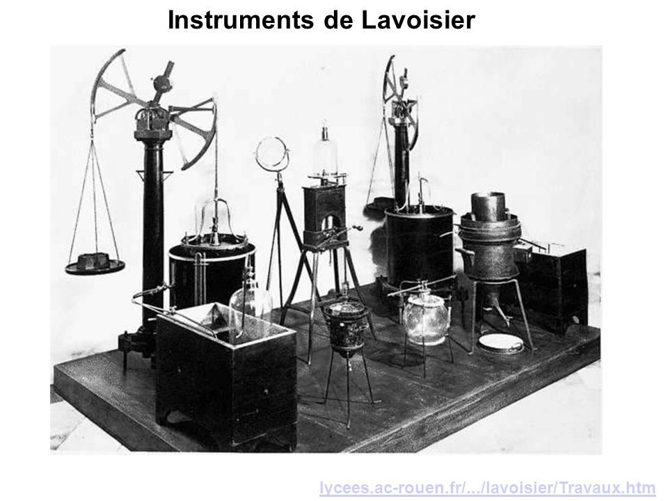 Instruments de Lavoisier