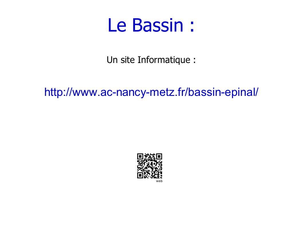 Le Bassin : http://www.ac-nancy-metz.fr/bassin-epinal/