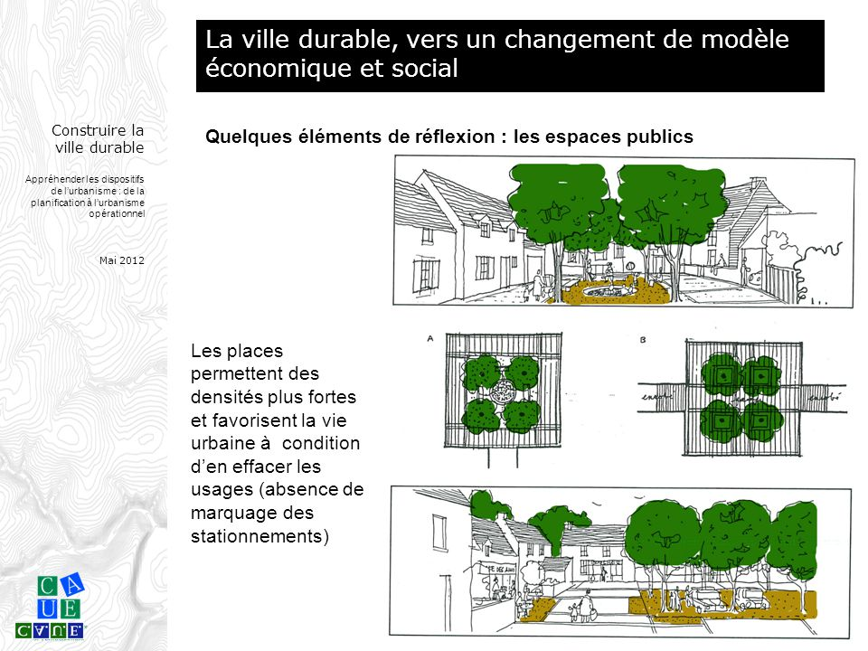 La ville durable, vers un changement de modèle économique et social