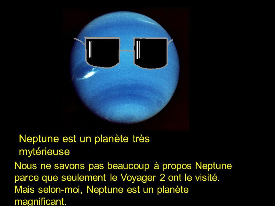 Neptune est un planète très mytérieuse
