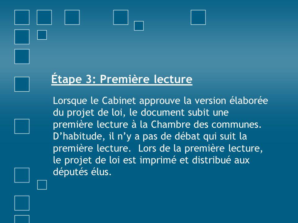 Étape 3: Première lecture