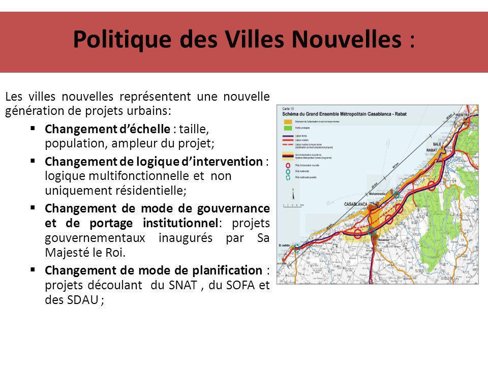 Politique des Villes Nouvelles :