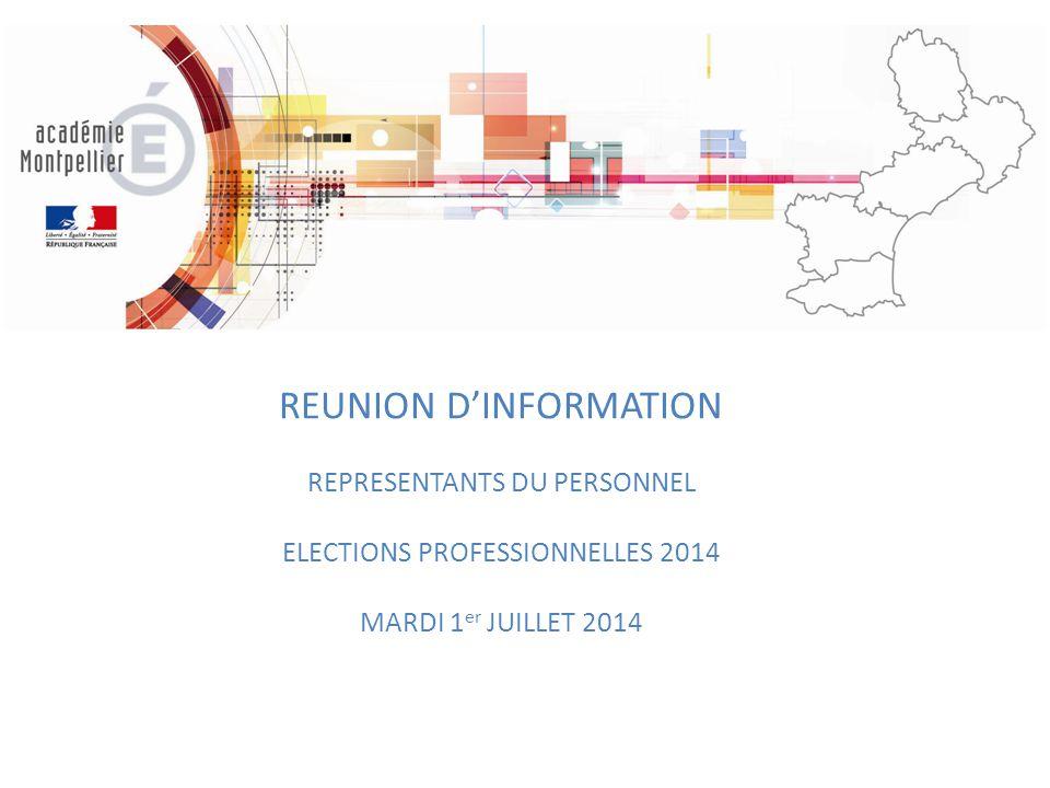REUNION D'INFORMATION
