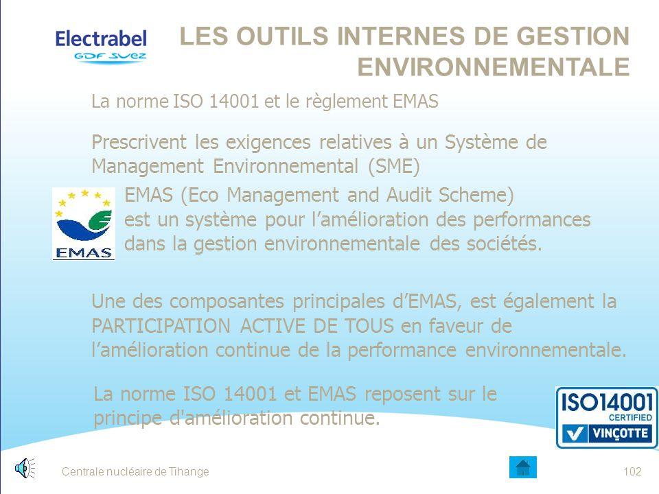 Les outils internes de gestion environnementale