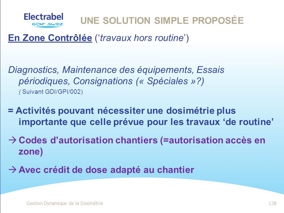 une solution simple proposée