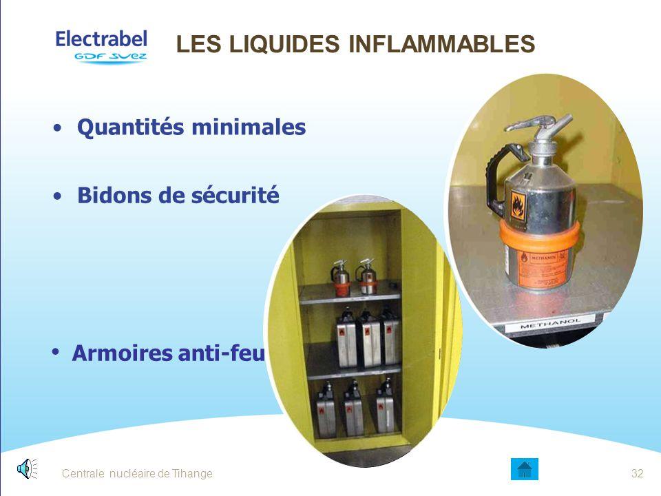 Les liquides inflammables