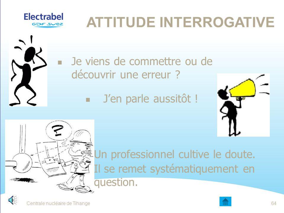 Attitude interrogative