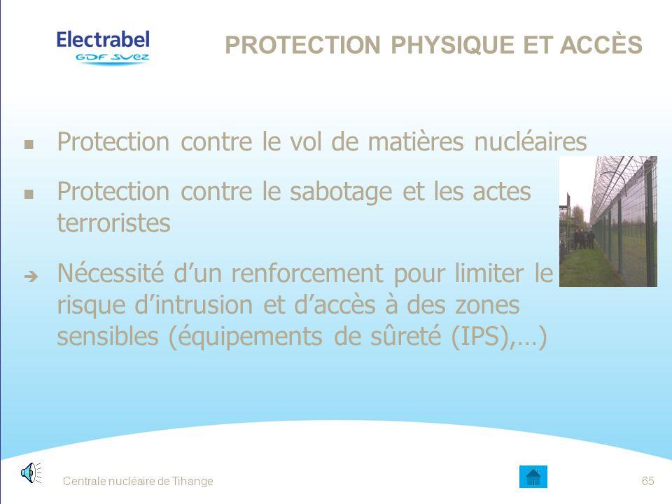 Protection Physique et Accès