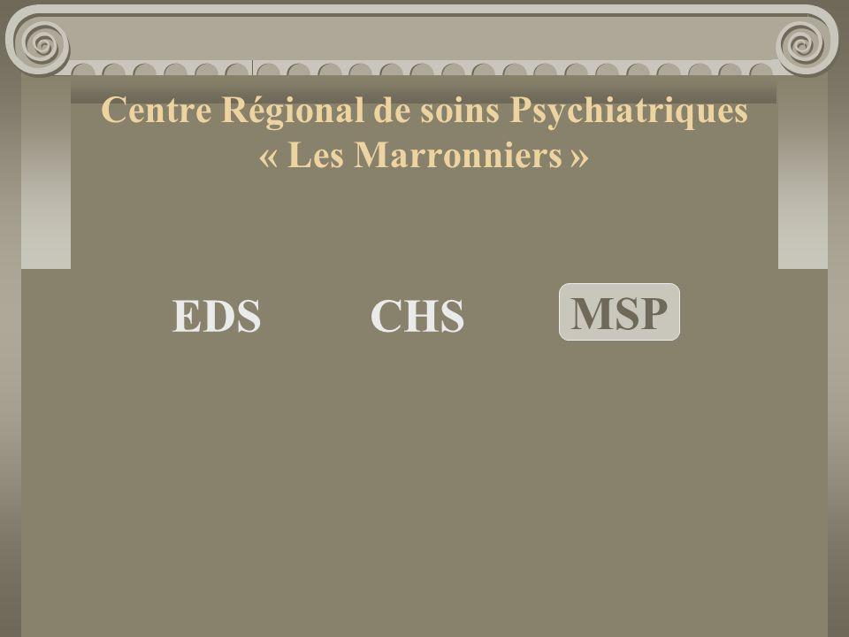 Centre Régional de soins Psychiatriques « Les Marronniers »