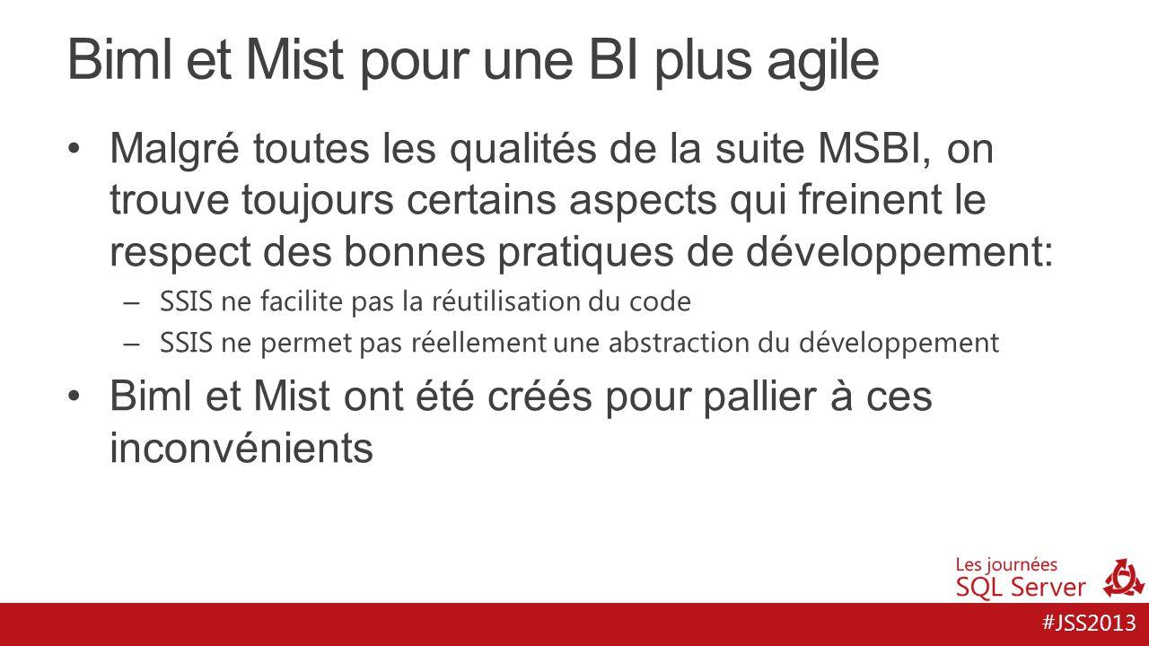 Biml et Mist pour une BI plus agile