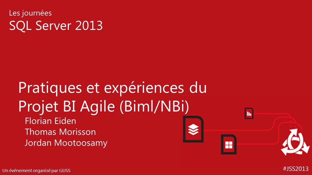 Pratiques et expériences du Projet BI Agile (Biml/NBi)