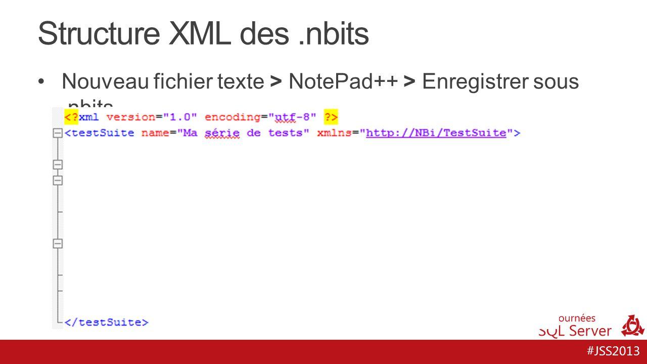 Structure XML des .nbits