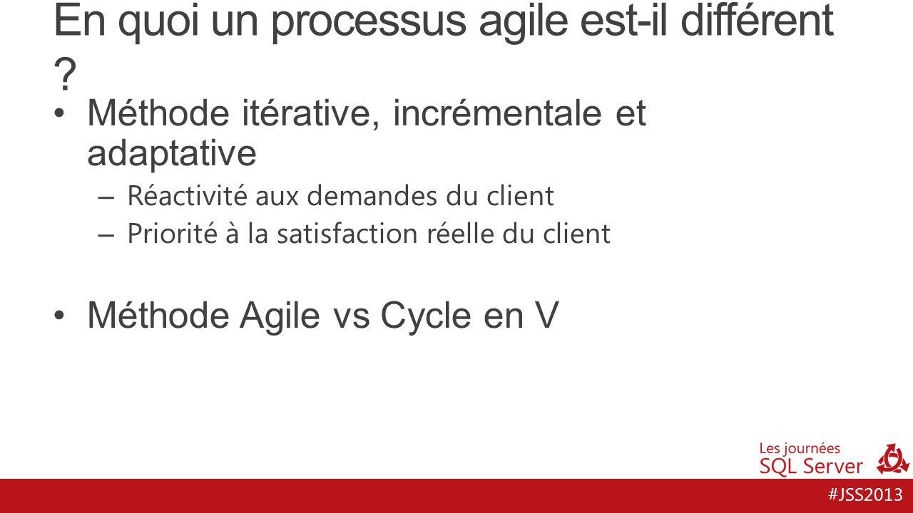 En quoi un processus agile est-il différent