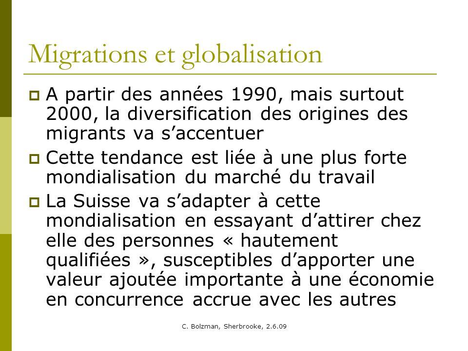 Migrations et globalisation
