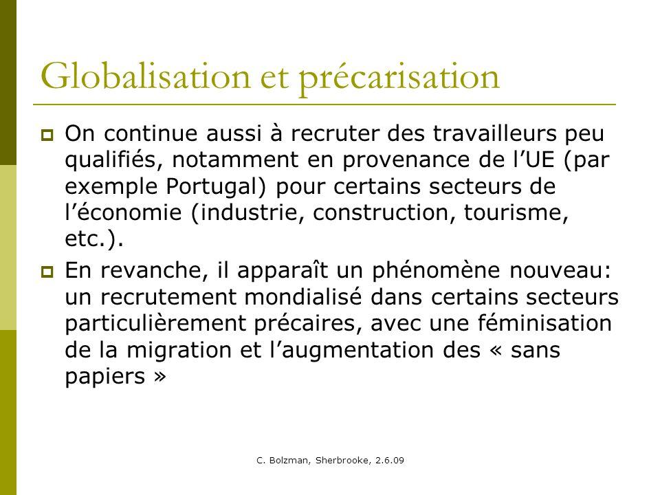 Globalisation et précarisation