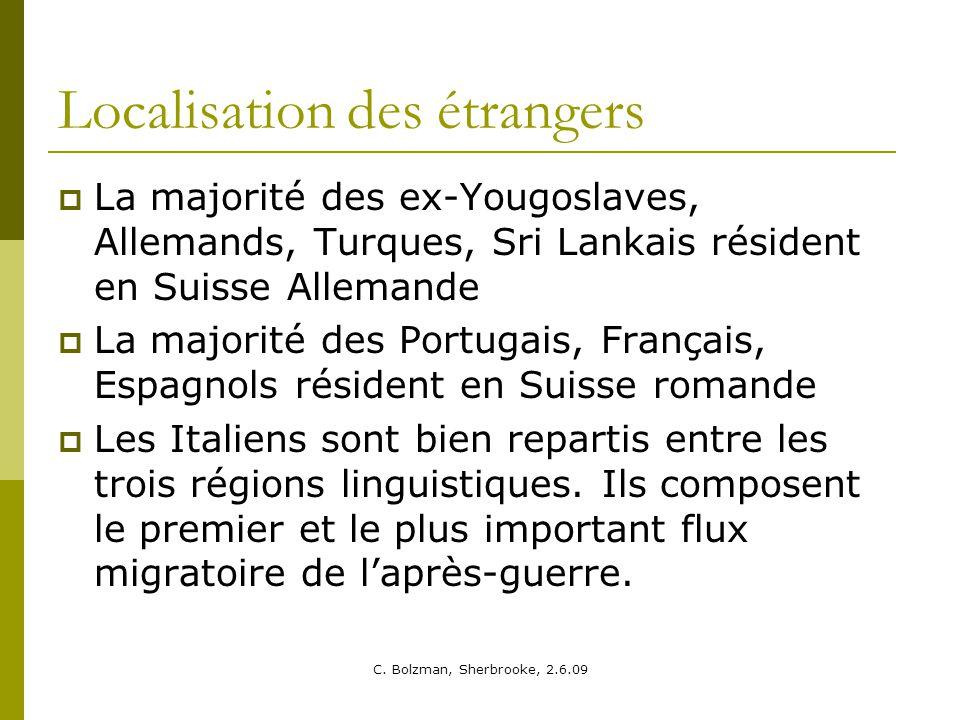 Localisation des étrangers