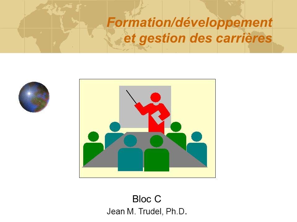 Formation/développement et gestion des carrières