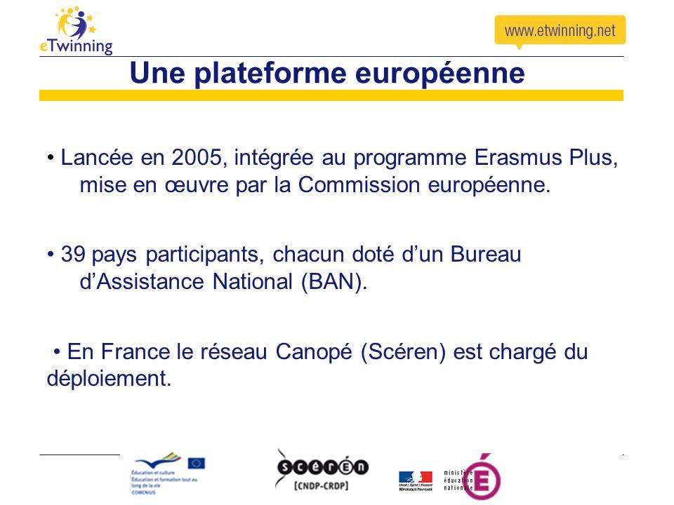 Une plateforme européenne