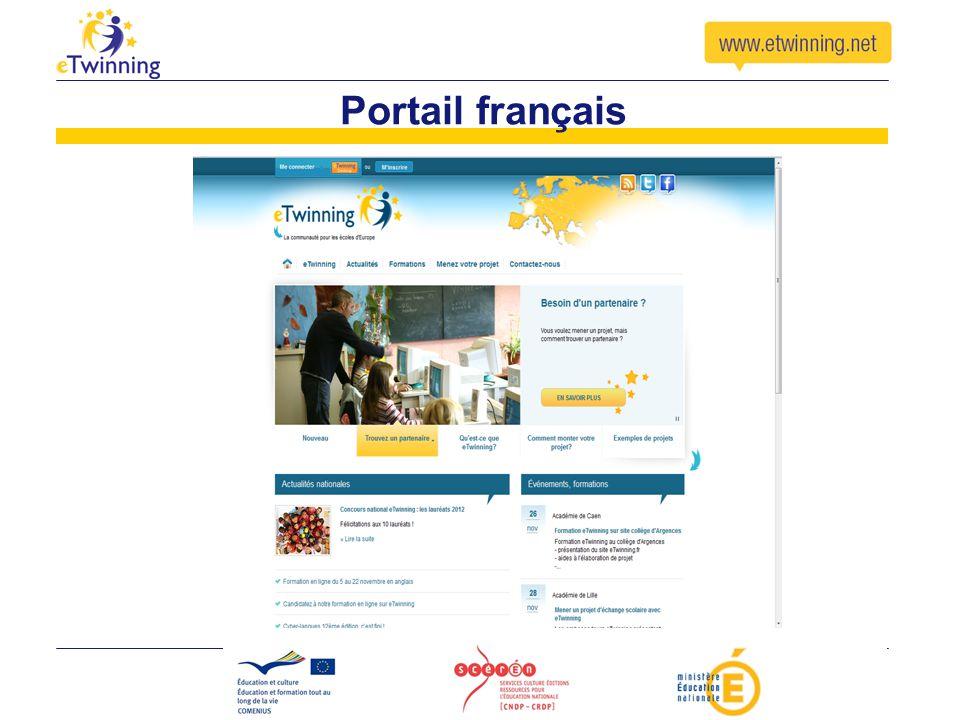 Portail français Aller sur le site français, montrer dans « menez votre projet » les ressources / les vidéos / les 7 étapes / exemples de projets.