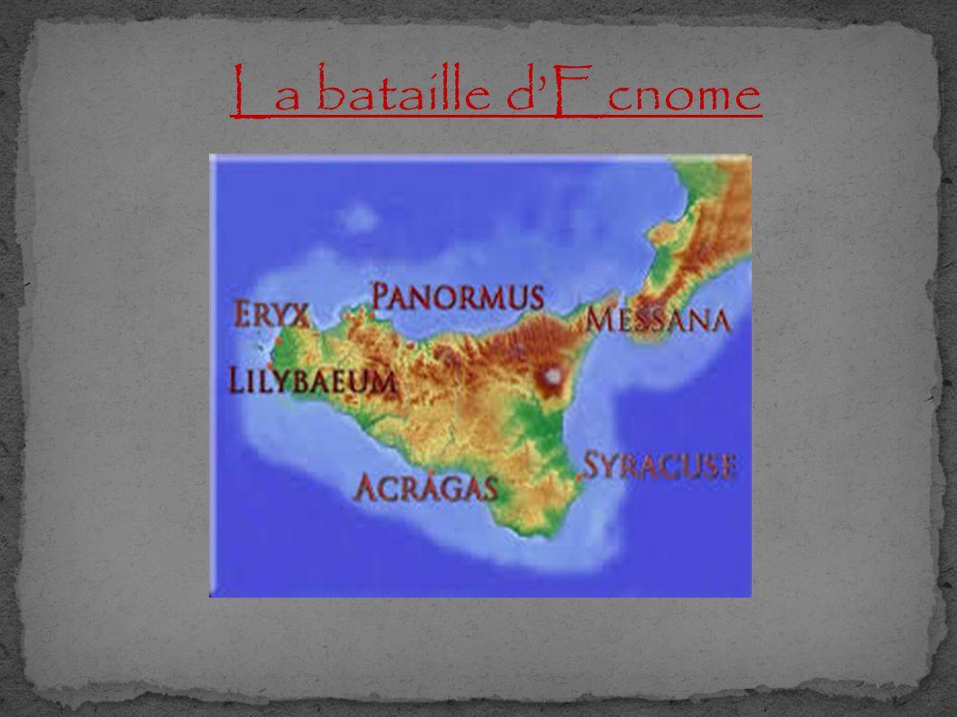 La bataille d'Ecnome